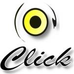 Logo da emissora Rádio Web Click