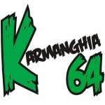 Logo da emissora Rádio K64