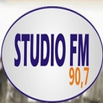 Logo da emissora Rádio Studio 90.7 FM