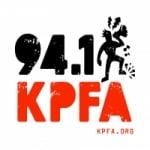 Logo da emissora Radio KPFA 94.1 FM