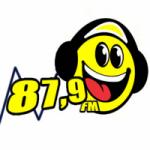 Logo da emissora Rádio Balneário 87.9 FM