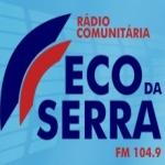 Logo da emissora Rádio Eco da Serra 104.9 FM