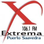 Logo da emissora Radio Extrema 106.1 FM
