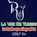 Logo da emissora Radio La Voz De Yungay 102.7 FM