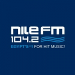 Logo da emissora Radio Nile 104.2 FM
