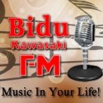 Logo da emissora Rádio Bidu Kawasaki FM