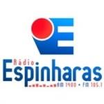 Logo da emissora Rádio Espinharas 105.1 FM