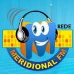 Logo da emissora Rádio Meridional FM 91.1