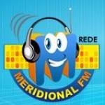 Logo da emissora Rádio Meridional 91.3 FM