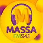 Logo da emissora Rádio Massa 94.1 FM