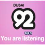 Logo da emissora Radio Dubai 92
