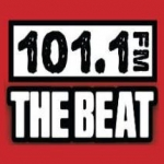 Logo da emissora KNRJ 101.1 FM The Beat