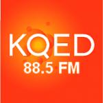 Logo da emissora Radio KQED 88.5 FM