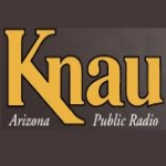 Logo da emissora KNAU Arizona Public Radio 88.7 FM