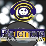 Logo da emissora Rádio Potência FM