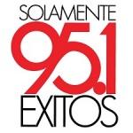 Logo da emissora KVIB 95.1 FM Solamente Exitos