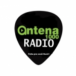 Logo da emissora Rádio Antena 1000
