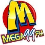 Logo da emissora Rádio Mega 99 FM