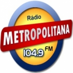 Logo da emissora Rádio Metropolitana 104.9 FM