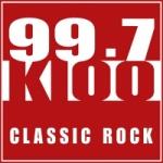 Logo da emissora Radio KIOO 99.7 FM
