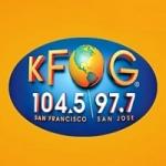Logo da emissora Radio KFOG 97.7 FM