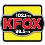 Logo da emissora KFOX 98.5 FM