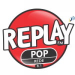Logo da emissora Replay Pop 8.1