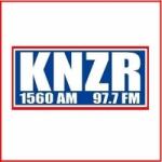 Logo da emissora Radio KNZR 1560 AM 97.7 FM