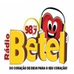 Logo da emissora Rádio Betel 98.7 FM