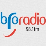 Logo da emissora Bro Radio 98.1 FM