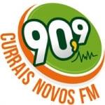 Logo da emissora Rádio Currais Novos 90.9 FM