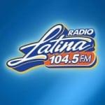 Logo da emissora Radio XLTN 104.5 FM