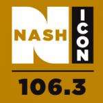 Logo da emissora Radio KRRF 106.3 FM