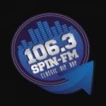 Logo da emissora Radio 106.3 Spin FM