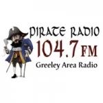 Logo da emissora KELS 104.7 FM Pirate Radio