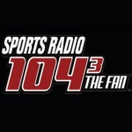 Logo da emissora Radio KKFN 104.3 FM