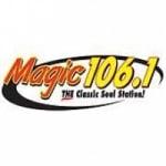Logo da emissora Radio WRRX 106.1 FM