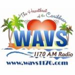 Logo da emissora Radio WAVS 1170 AM