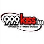 Logo da emissora KJKS 99.9 FM Kiss