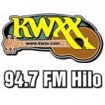Logo da emissora KWXX 94.7 FM