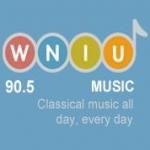 Logo da emissora Radio WNIU NPR 90.5 FM