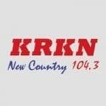 Logo da emissora Radio KRKN 104.3 FM