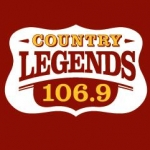 Logo da emissora Radio KTPK Country Legends 106.9 FM