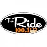 Logo da emissora Radio KRDQ The Ride 100.3 FM