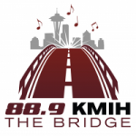 Logo da emissora KMIH 88.9 FM The Bridge