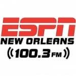 Logo da emissora Radio KLRZ ESPN 100.3 FM