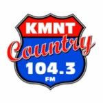 Logo da emissora KMNT 104.3 FM
