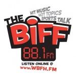 Logo da emissora WBFH 88.1 FM