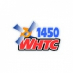 Logo da emissora WHTC 1450 AM