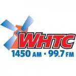 Logo da emissora WHTC 1450 AM 99.7 FM